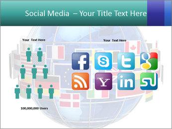 Global World PowerPoint Template - Slide 5