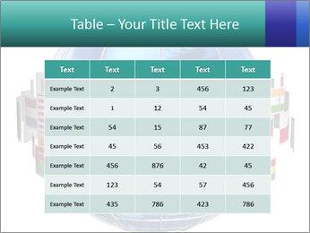 Global World PowerPoint Template - Slide 55