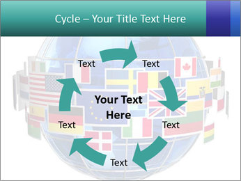 Global World PowerPoint Template - Slide 62