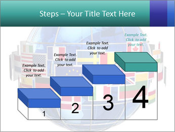 Global World PowerPoint Template - Slide 64