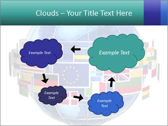 Global World PowerPoint Template - Slide 72