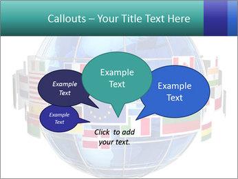 Global World PowerPoint Template - Slide 73