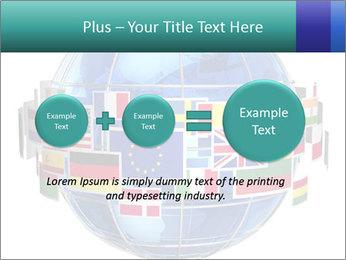Global World PowerPoint Template - Slide 75