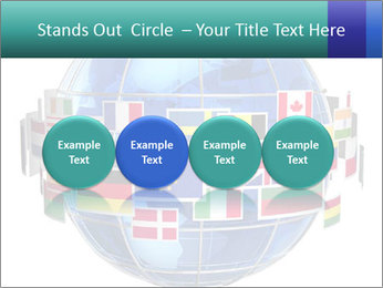 Global World PowerPoint Template - Slide 76