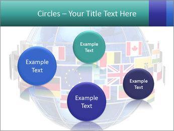 Global World PowerPoint Template - Slide 77