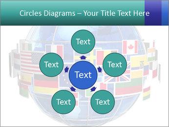 Global World PowerPoint Template - Slide 78