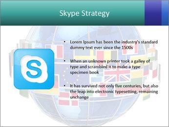 Global World PowerPoint Template - Slide 8