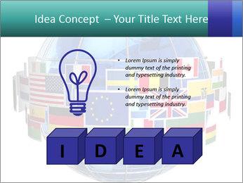 Global World PowerPoint Template - Slide 80