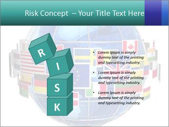 Global World PowerPoint Template - Slide 81