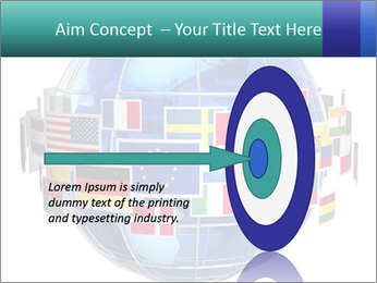 Global World PowerPoint Template - Slide 83