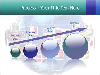 Global World PowerPoint Template - Slide 87