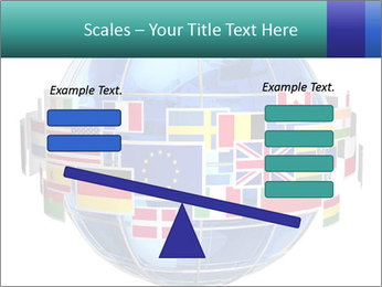 Global World PowerPoint Template - Slide 89