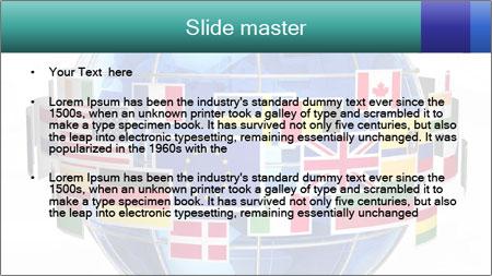 Global World PowerPoint Template - Slide 2
