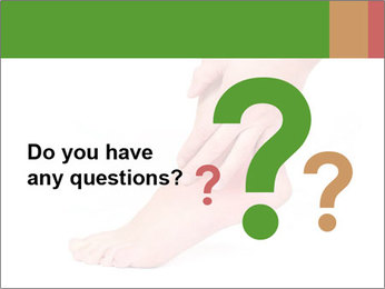 Injured Ankle PowerPoint Template - Slide 96