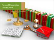 Legal Responsibility PowerPoint Template