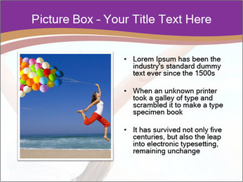 Relaxed Woman PowerPoint Template - Slide 13