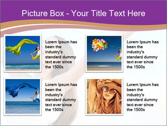 Relaxed Woman PowerPoint Template - Slide 14