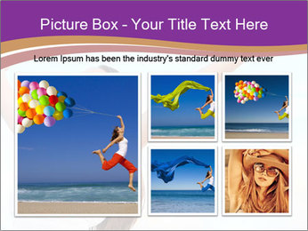 Relaxed Woman PowerPoint Template - Slide 19