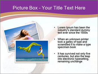 Relaxed Woman PowerPoint Template - Slide 20