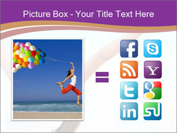 Relaxed Woman PowerPoint Template - Slide 21