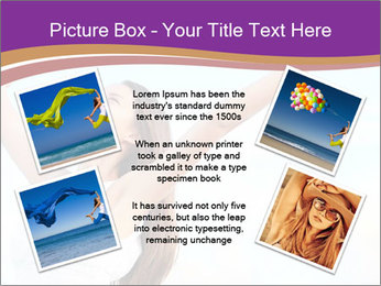 Relaxed Woman PowerPoint Template - Slide 24