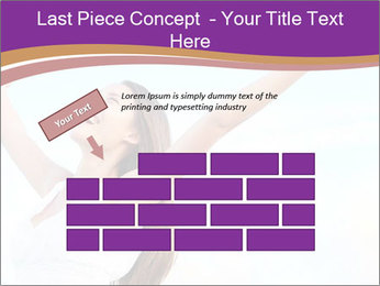 Relaxed Woman PowerPoint Template - Slide 46