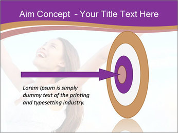 Relaxed Woman PowerPoint Template - Slide 83