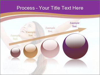 Relaxed Woman PowerPoint Template - Slide 87
