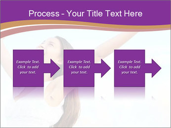 Relaxed Woman PowerPoint Template - Slide 88