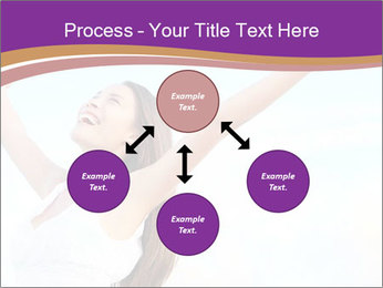 Relaxed Woman PowerPoint Template - Slide 91