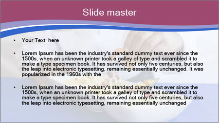 Busy Chef Cook PowerPoint Template - Slide 2