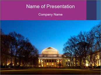 Boston City PowerPoint Template - Slide 1