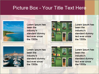 Colorful Buildings PowerPoint Template - Slide 14