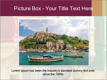 Colorful Buildings PowerPoint Template - Slide 15
