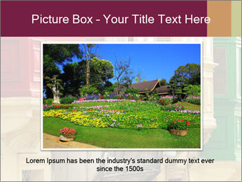 Colorful Buildings PowerPoint Template - Slide 16