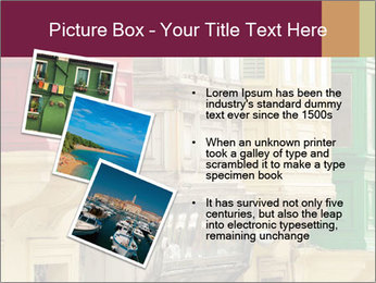 Colorful Buildings PowerPoint Template - Slide 17