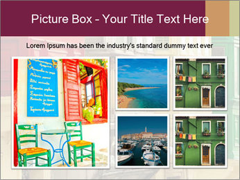 Colorful Buildings PowerPoint Template - Slide 19