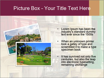 Colorful Buildings PowerPoint Template - Slide 20