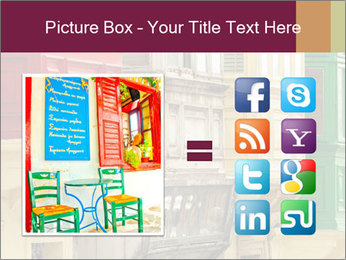 Colorful Buildings PowerPoint Template - Slide 21