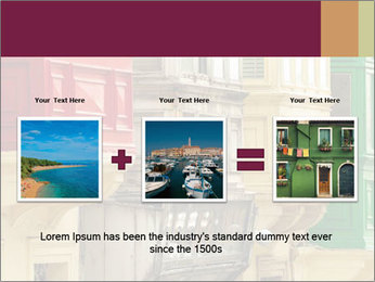 Colorful Buildings PowerPoint Template - Slide 22