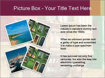 Colorful Buildings PowerPoint Template - Slide 23