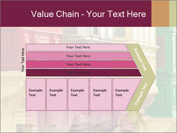 Colorful Buildings PowerPoint Template - Slide 27