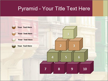 Colorful Buildings PowerPoint Template - Slide 31