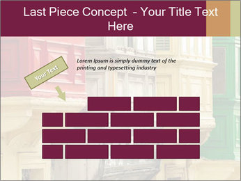 Colorful Buildings PowerPoint Template - Slide 46