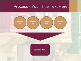 Colorful Buildings PowerPoint Template - Slide 93