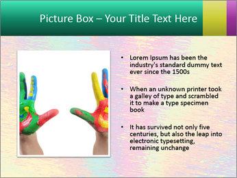 Rainbow Drawing PowerPoint Template - Slide 13