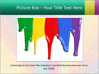 Rainbow Drawing PowerPoint Template - Slide 15