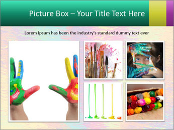 Rainbow Drawing PowerPoint Template - Slide 19