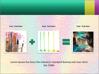 Rainbow Drawing PowerPoint Template - Slide 22