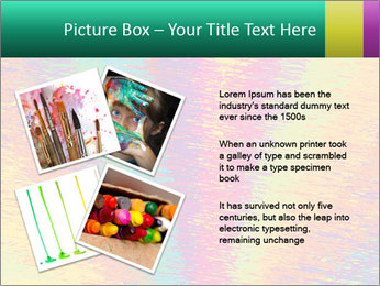 Rainbow Drawing PowerPoint Template - Slide 23